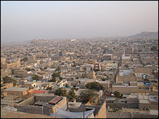 The Karachi district of Orangi