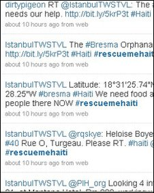 rescuemehaiti screenshot