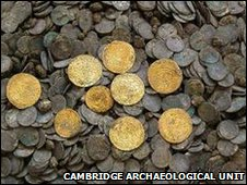 Chesterton Lane coin hoard