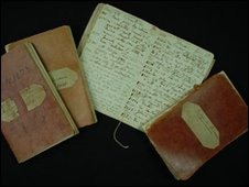 Darwin's notebooks