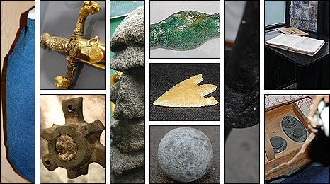 Guernsey's 10 objects for A History of the World