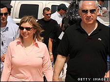 Sarah and Benjamin Netanyahu