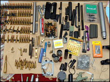 Ammunition found in Terence Gavan's room