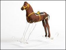 Toy rocking horse from the Victoria Hall Disaster in Sunderland on 16 June 1883 © Tyne & Wear Archives & Museums