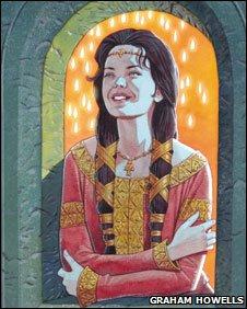 Dwynwen: from Dwynwen: Santes Cariadon Cymru, published by Gwasg Carreg Gwalch