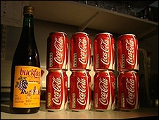 Buckfast contains the same amount of caffeine as eight cans of Coke
