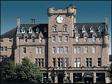 Malmaison in Edinburgh (Pic from the Malmaison website)