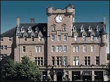 Malmaison in Edinburgh (Pic from the Malmaison website)