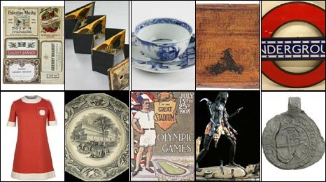 London's 10 objects for A History of the World project.