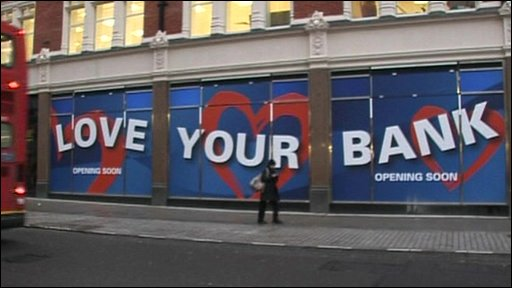 Bank hoarding