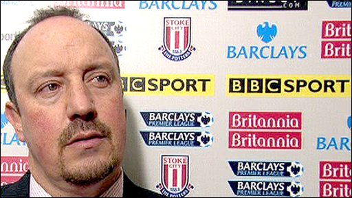 Liverpool manager Rafael Benitez