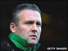 Norwich City's Paul Lambert