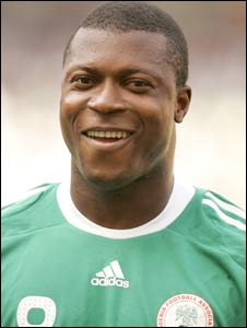 Nigeria and Everton striker Yakubu