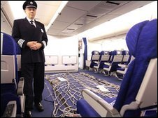 The British Airways plane sent to Haiti
