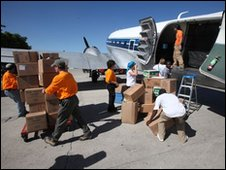 Supplies carried out of plane