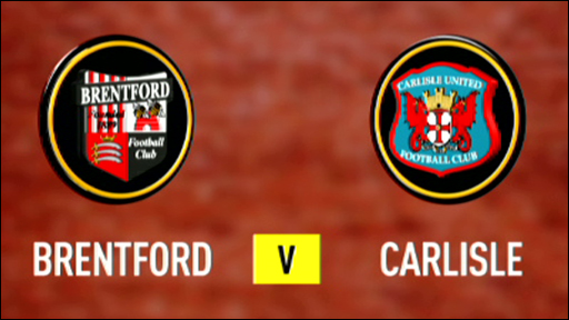 Brentford 3-1 Carlisle
