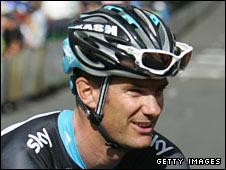 Team Sky rider Greg Henderson