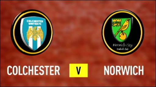 Colchester 0-5 Norwich