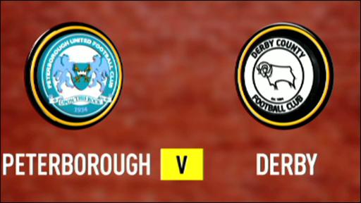 Peterborough 0-3 Derby