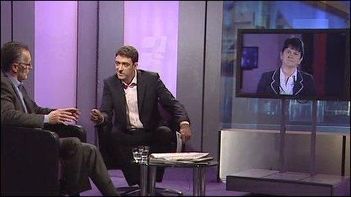 Still from Politics Show