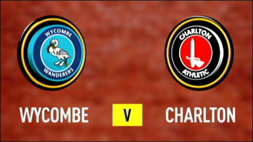 Wycombe 1-2 Charlton