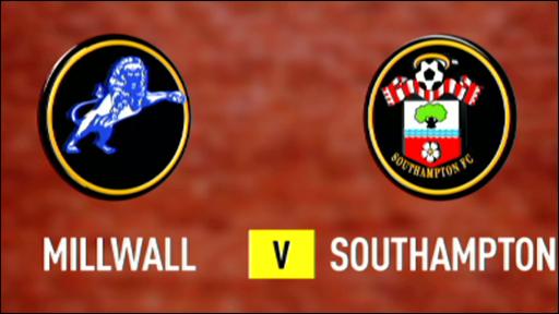 Millwall 1-1 Southampton