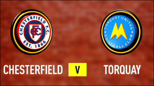Chesterfield 1-0 Torquay