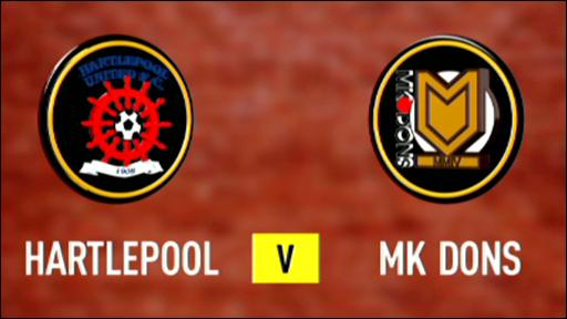 Hartlepool 0-5 MK Dons
