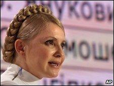 Yulia Tymoshenko in Kiev, Ukraine, 17 January 2010