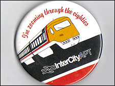 British Rail InterCity APT badge, 1980s