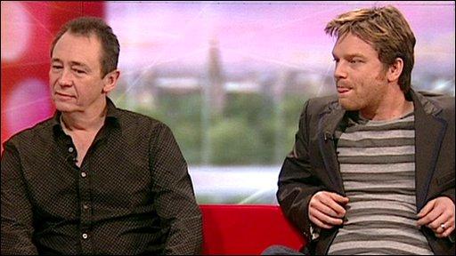 Paul Whitehouse and Rhys Thomas