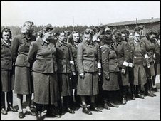 The battle dress of Mary Joan Bruins, who was at the liberation of Bergen Belsen, is one of the exhibits
