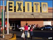 Exito supermarket branch in Caracas
