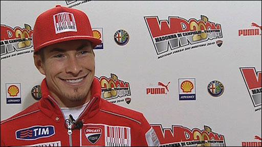 MotoGP rider Nicky Hayden