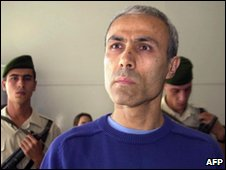 Mehmet Ali Agca in a Turkish court in 2000