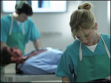 still from Silent Witness