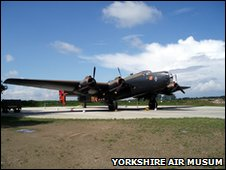 Halifax Bomber, Yorkshire Air Museum