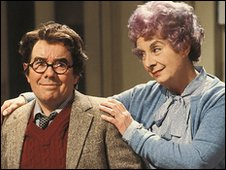 Ronnie Corbett in Sorry, BBC comedy about middle-aged man living in family home