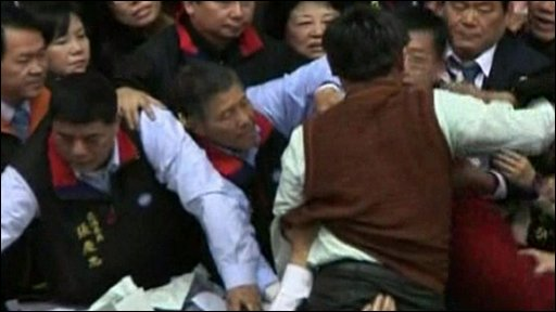 Opposition parties fighting