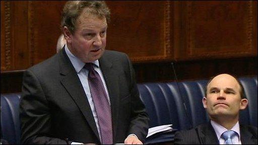 Ulster Unionist MLA Danny Kinahan