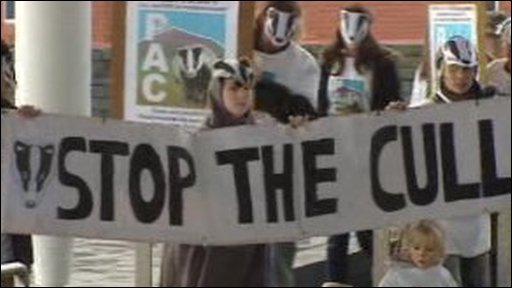 Stop the cull banner