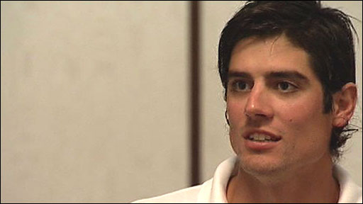 Stand-in England captain Alastair Cook