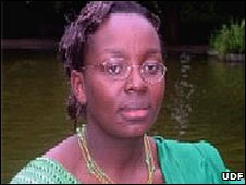 Victoire Ingabire (Photo from UDF website: www.fdu-rwanda.org/)