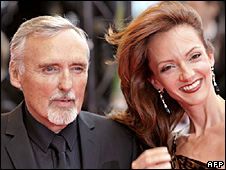 Dennis Hopper and Victoria Duffy
