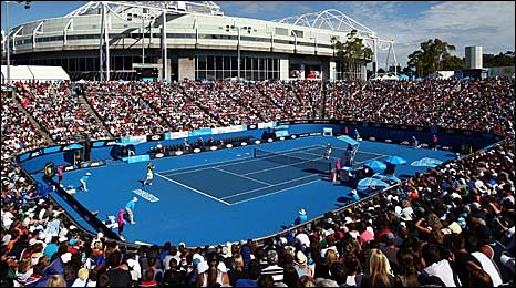 A general view of the Margaret Court Arena