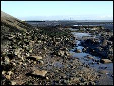 Dovercourt embankment