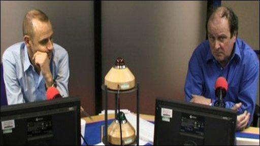 Today presenters Evan Davis and James Naughtie