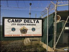 File photo of Camp Delta from 2008