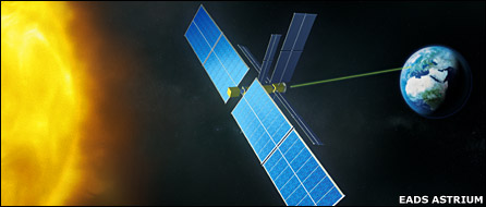 Solar power transmission from space concept  (EADS Astrium)