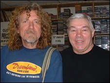 Robert Plant and Danny Reddington